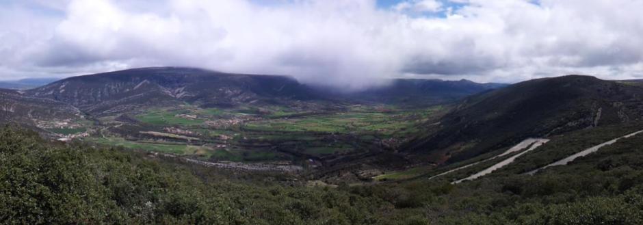 Panorámica del Valle de Valdivielso por Jorge Orive