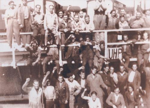 Año 1935 Horna.Huelga de Renfe
