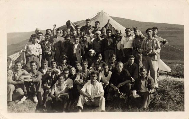 La Columna Villarias en Los Tornos ¿Reconoces a algun miliciano?