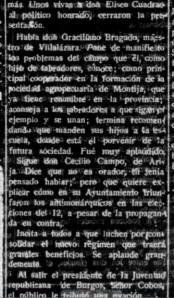 Diario de Burgos 14-5-31 Graciliano