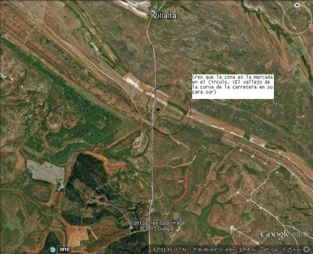 Posible ubicación de la Fosa de Villalta