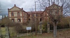 escuelas cristalera de Arija