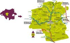 villarcayo mapa