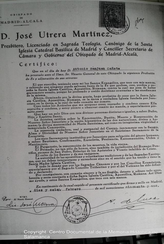Centro documental de la Memoria Histórica de Salamanca