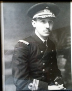 Edmundo, hermano de Antonio Sanjuán, delegado marítimo de Guipúzcoa